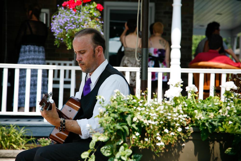 wedding guitarist toronto ottawa niagara naples ceremony guitar