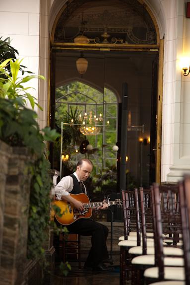 wedding guitarist toronto muskoka ottawa niagara new york city ceremony guitar