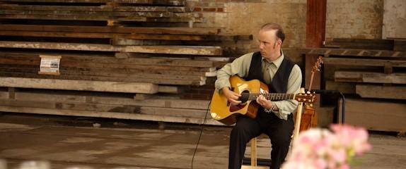 Wedding guitar testimonial – Evergreen Brickworks.