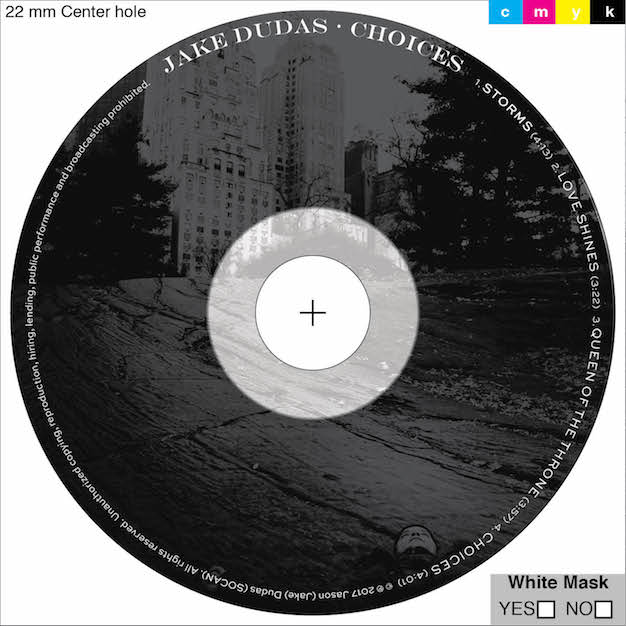 Jake Dudas Choices Official Release Artwork
