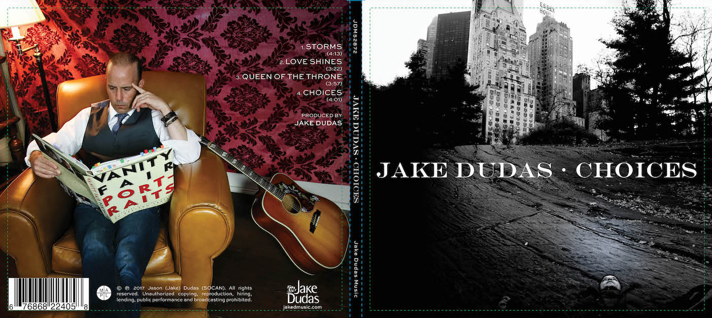 Jake Dudas Choices Official Release Artwork