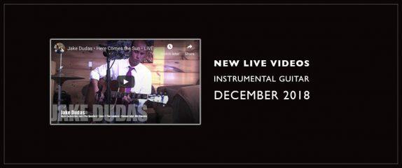 Show Jan. 16 – LIVE instrumental videos