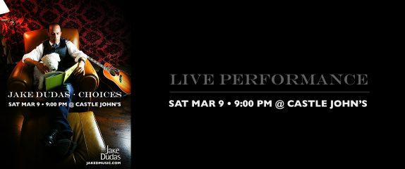 Public show – Castle John's – Sat. Mar. 9