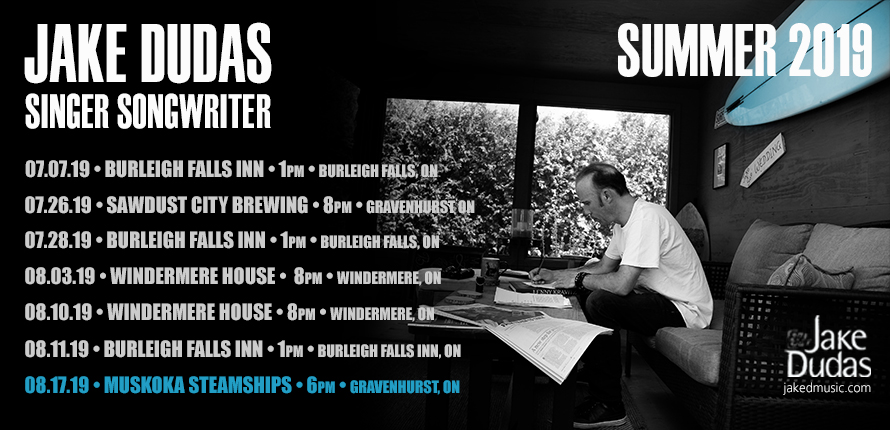 jake dudas, guitarist, guitar, singer, songwriter, Muskoka, Muskoka Steamships, Saturday, August, 17, 2019, Gravenhurst, Ontario, Northridge Inn, Huntsville